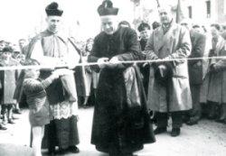 l'inaugurazione con Don Camillo Suman